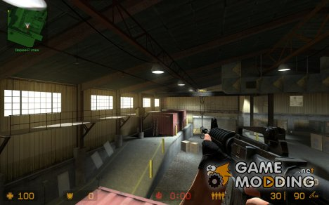 M16 for M4 for Counter-Strike Source