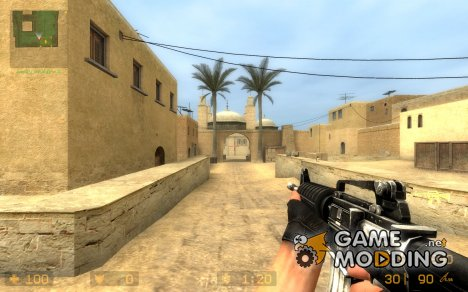 Joshbjoshingu's Black M4a1 for Counter-Strike Source