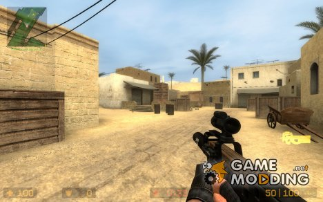 Silenced P90 for Counter-Strike Source