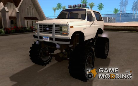 Ford Bronco Monster Truck 1985 for GTA San Andreas