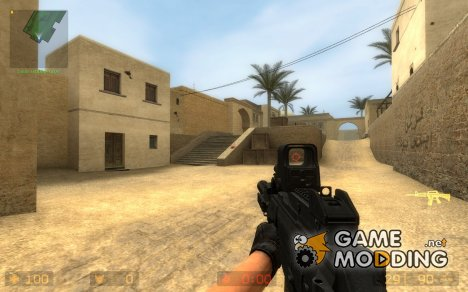 NEW Aimable HK G36c Anims/ w_models for Counter-Strike Source