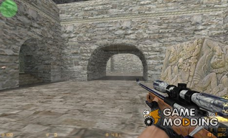 Wood default AWP for Counter-Strike 1.6