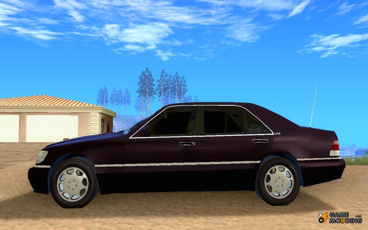 Mercedes benz s600 v12 2011 for gta san andreas for 2011 mercedes benz s600