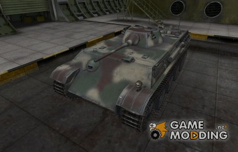 Скин-камуфляж для танка Aufklarerpanzer Panther for World of Tanks