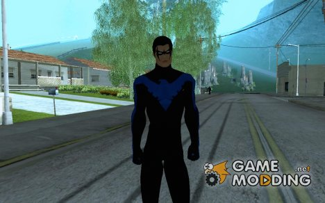Nightwing for GTA San Andreas