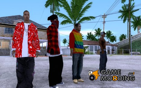 RP Bloodz Pack for GTA San Andreas