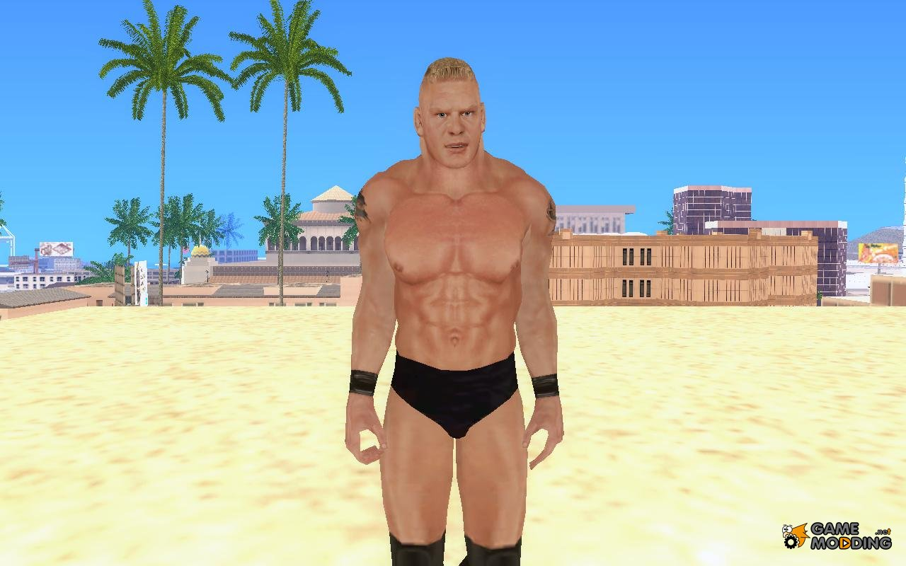 Brock Lesnar From Hctp 2003 For Gta San Andreas