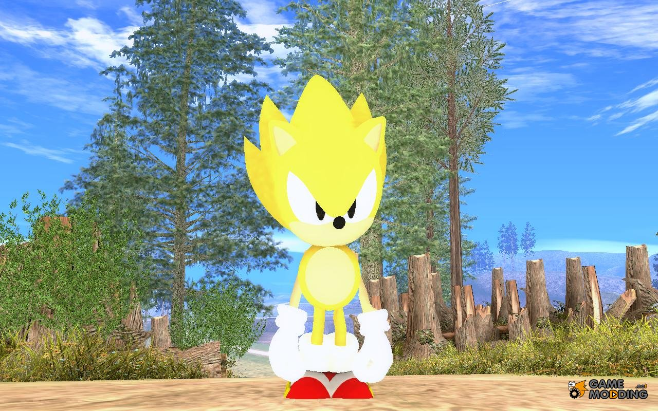 how to get super sonic