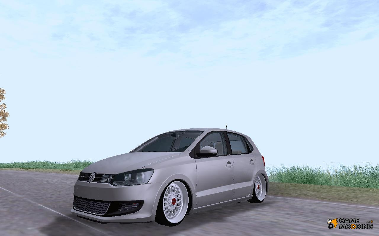 volkswagen polo 6r tsi edit for gta san andreas. Black Bedroom Furniture Sets. Home Design Ideas