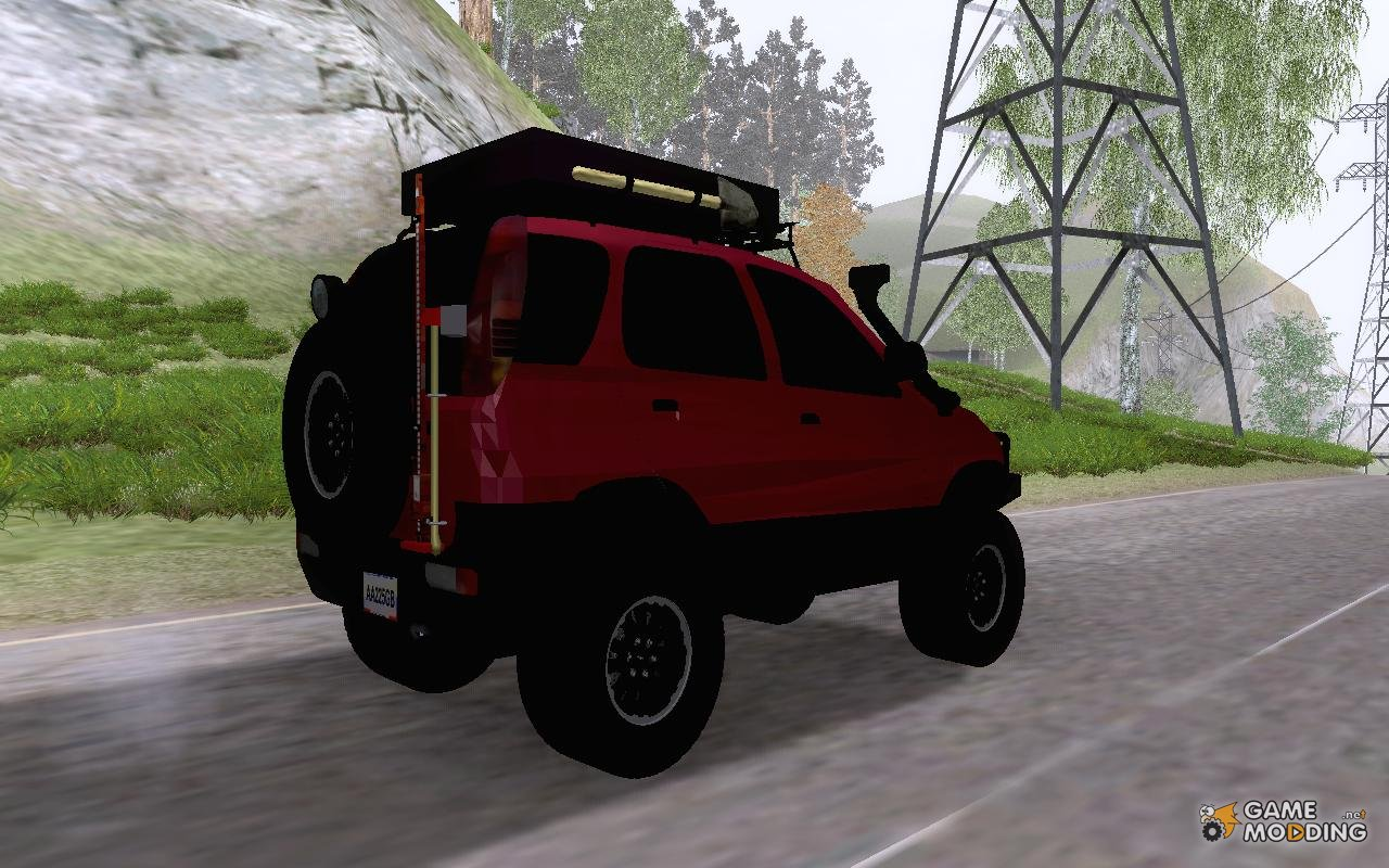 Toyota Terios 2007 Off Road For Gta San Andreas