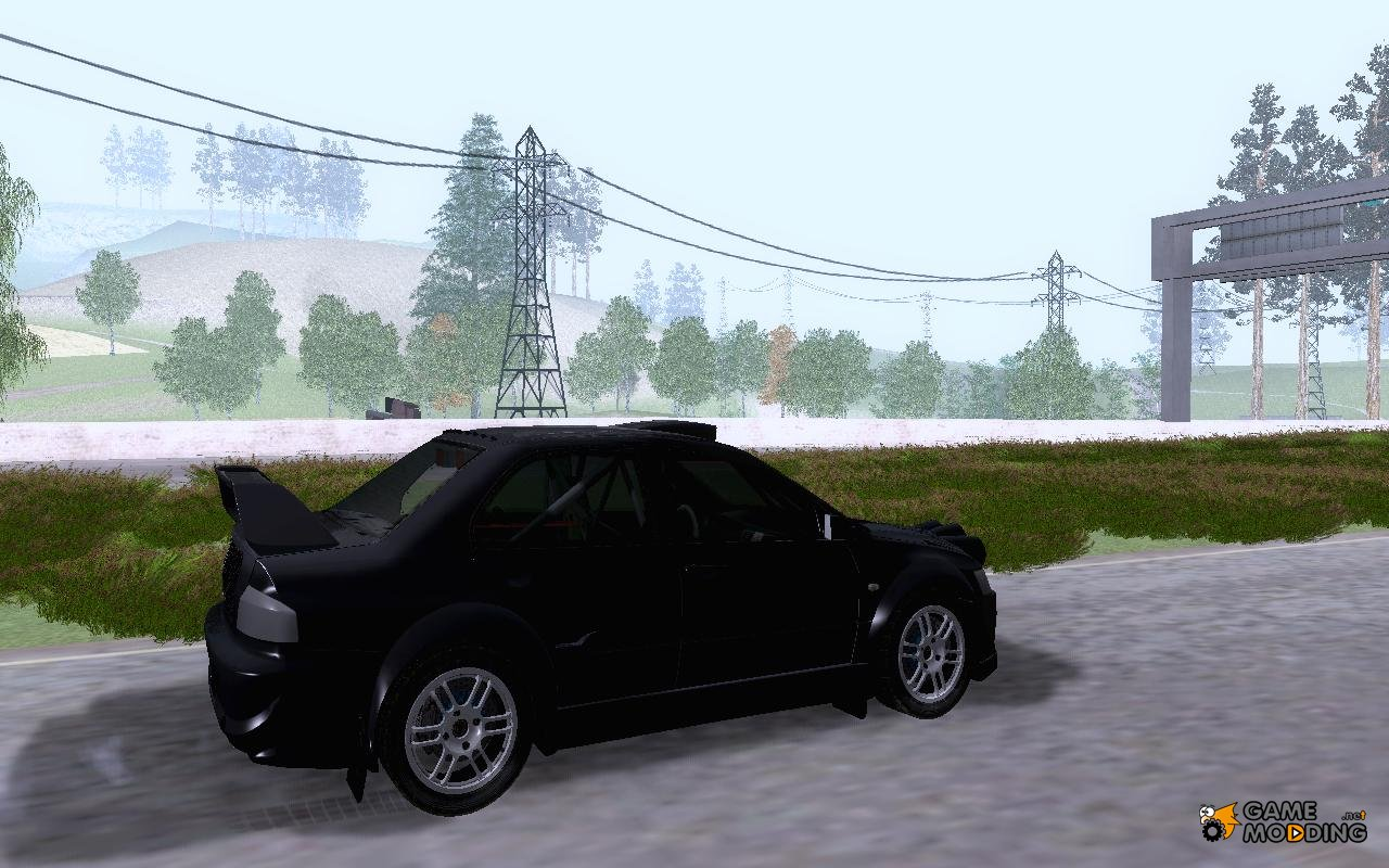 Mitsubishi Evo Ix Rally Cross For Gta San Andreas