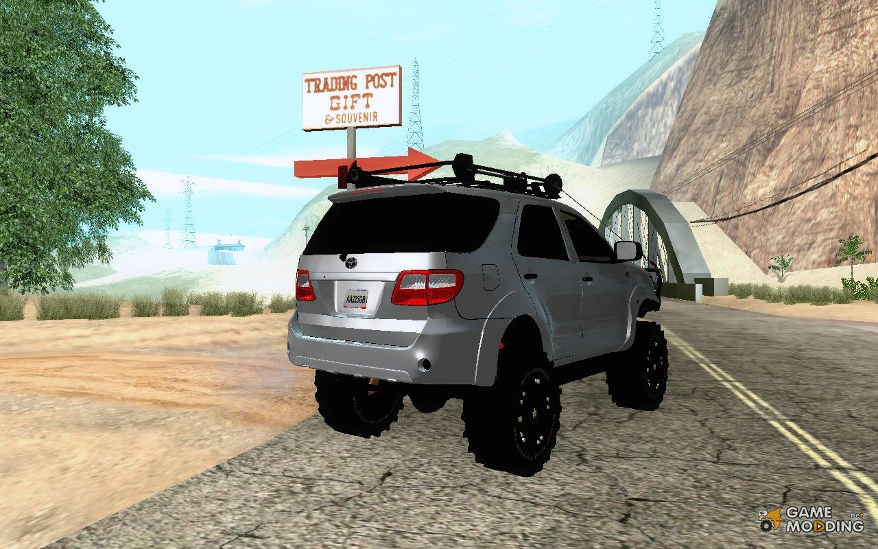 Toyota Fortuner 2013 Off Road For Gta San Andreas