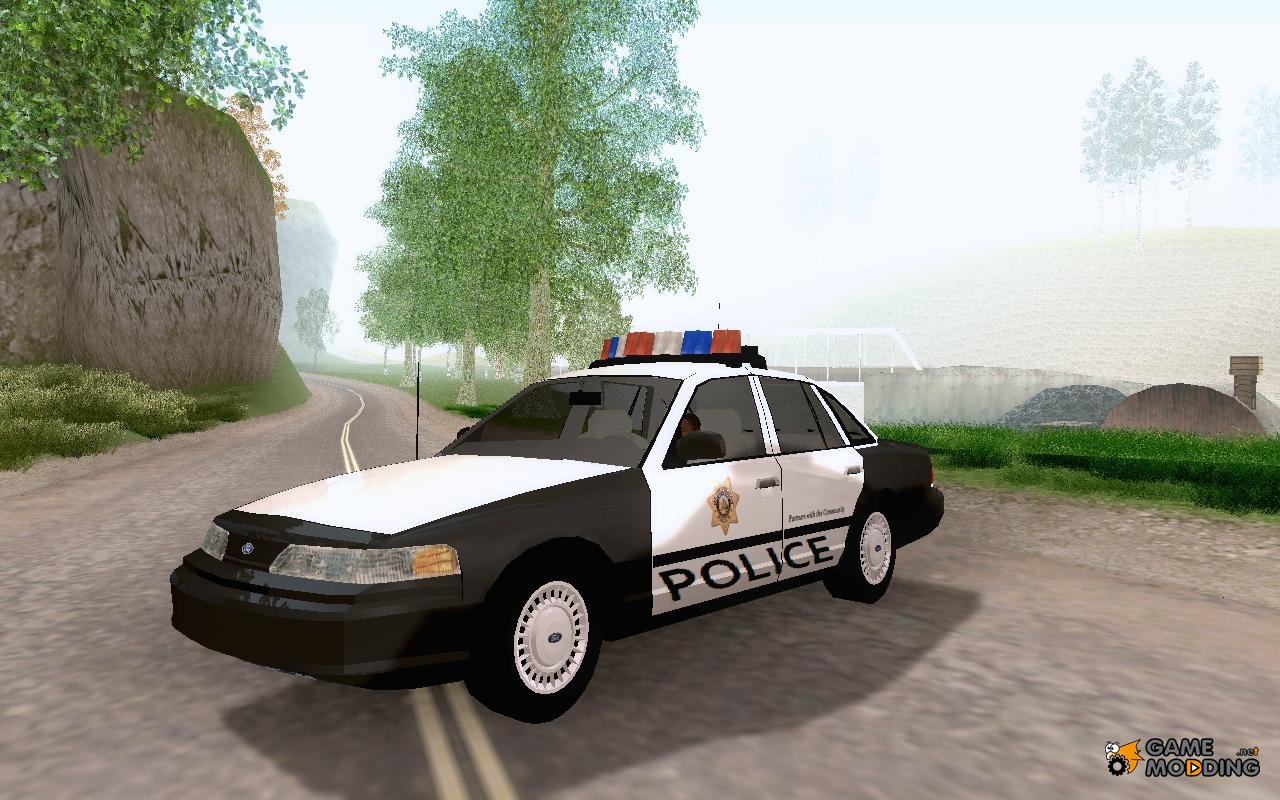 Ford Crown Victoria Lvpd 1992 For Gta San Andreas
