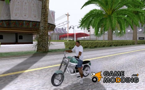 Custom Motorcycle for GTA San Andreas