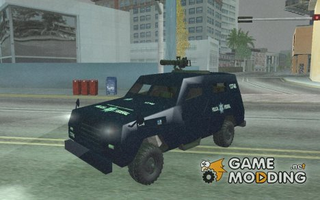 Armored Federal Police for GTA San Andreas