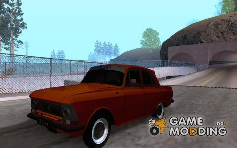 "AZLK 408 ""Moskvitch"" for GTA San Andreas"