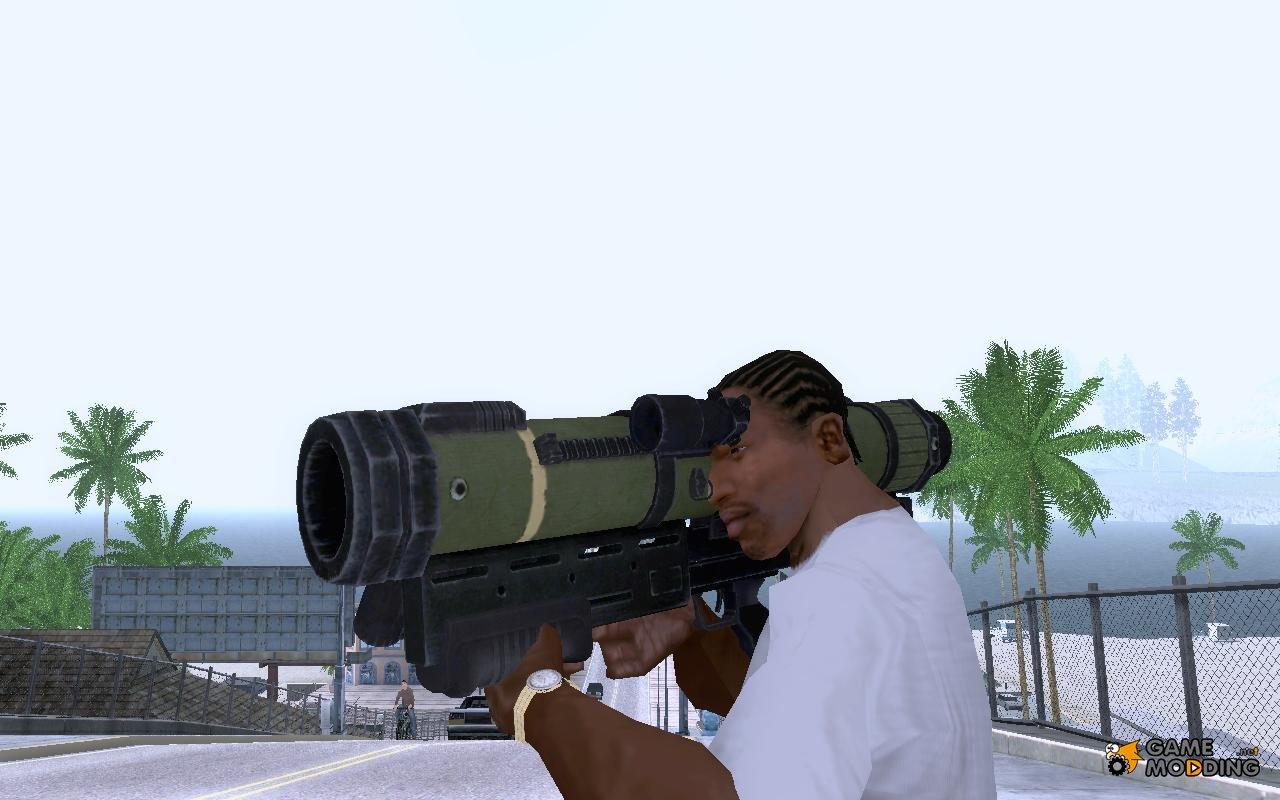 Weapons for GTA San Andreas with automatic installation