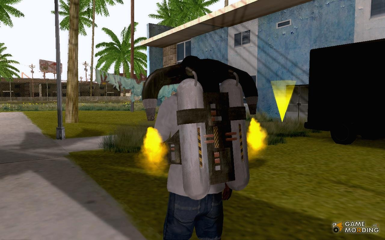 how to fly jet in gta san andreas
