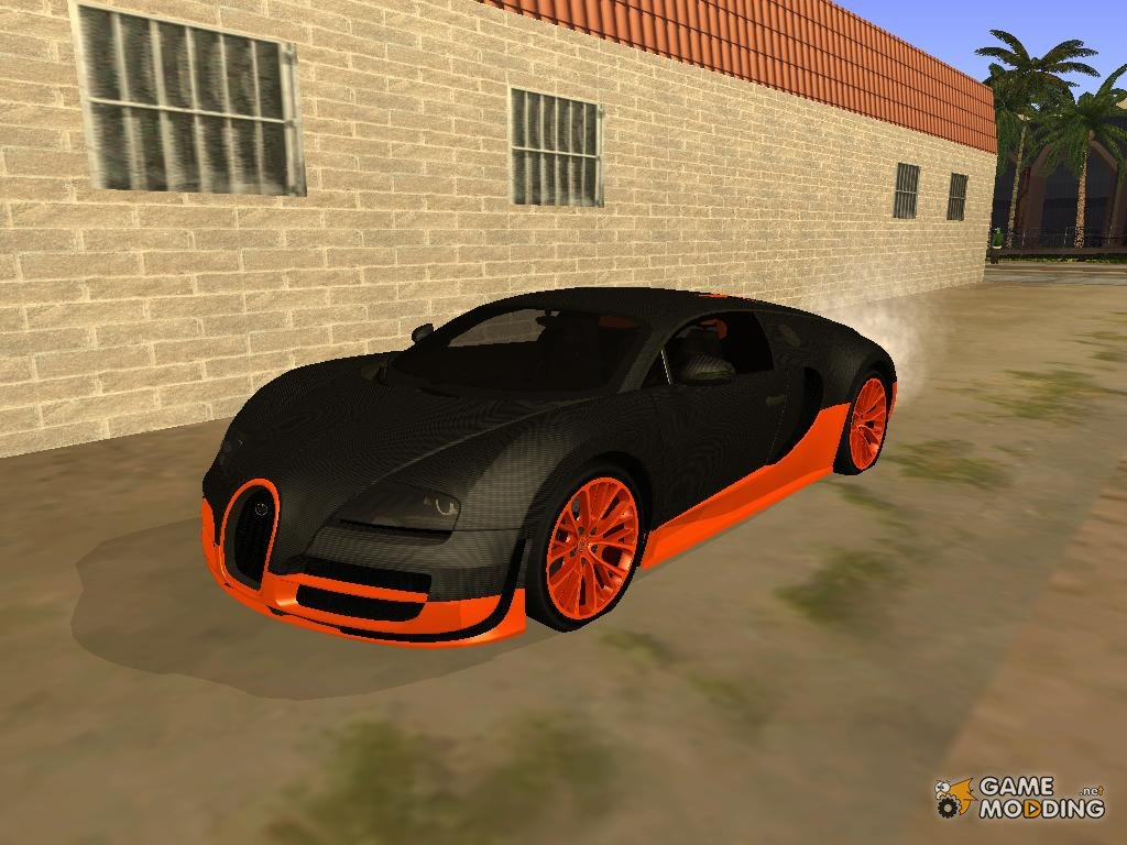 Bugatti For Gta San Andreas