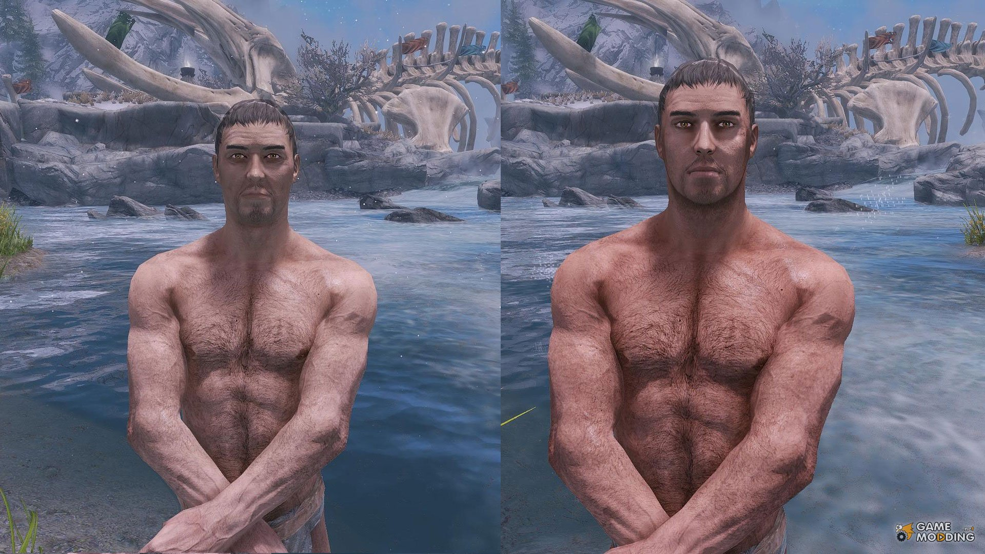 high res face maps by geonox for tes v skyrim