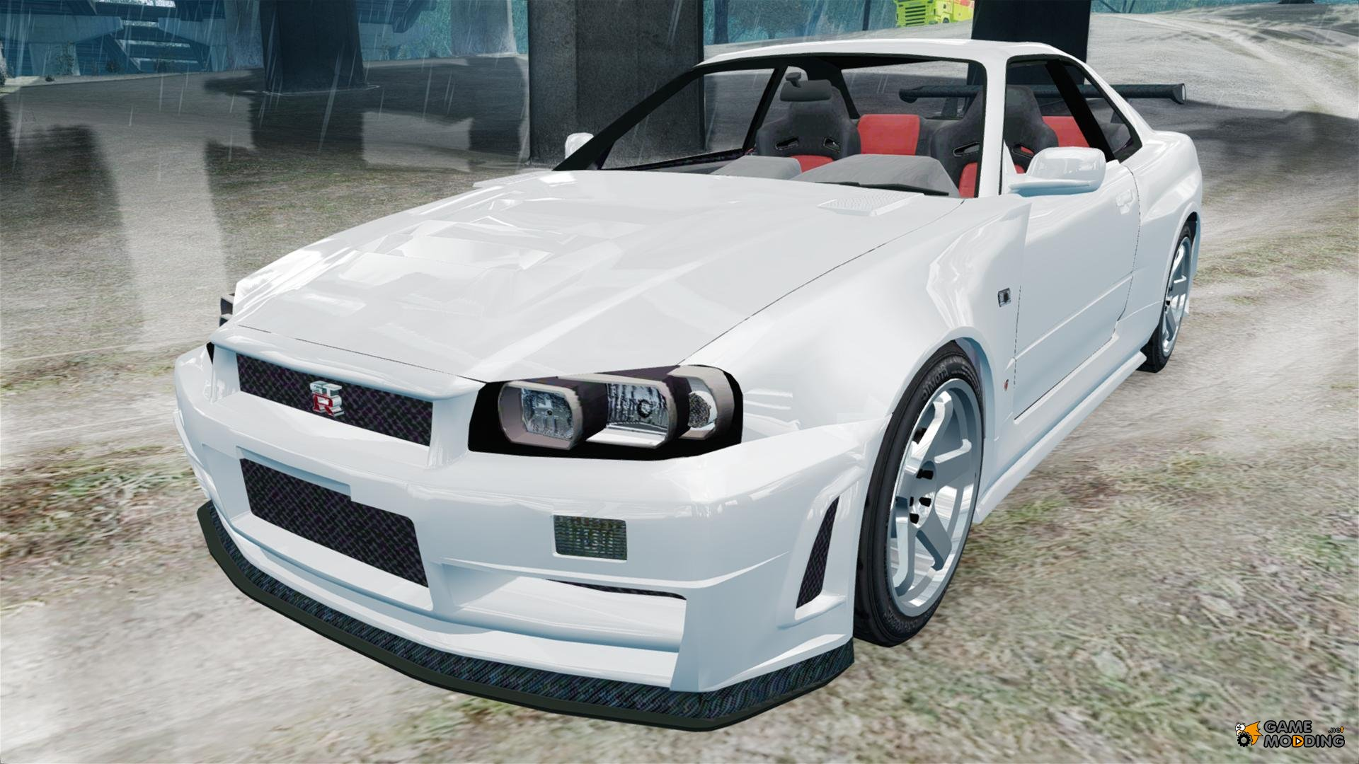 nissan skyline r34 gt r z tune for gta 4. Black Bedroom Furniture Sets. Home Design Ideas