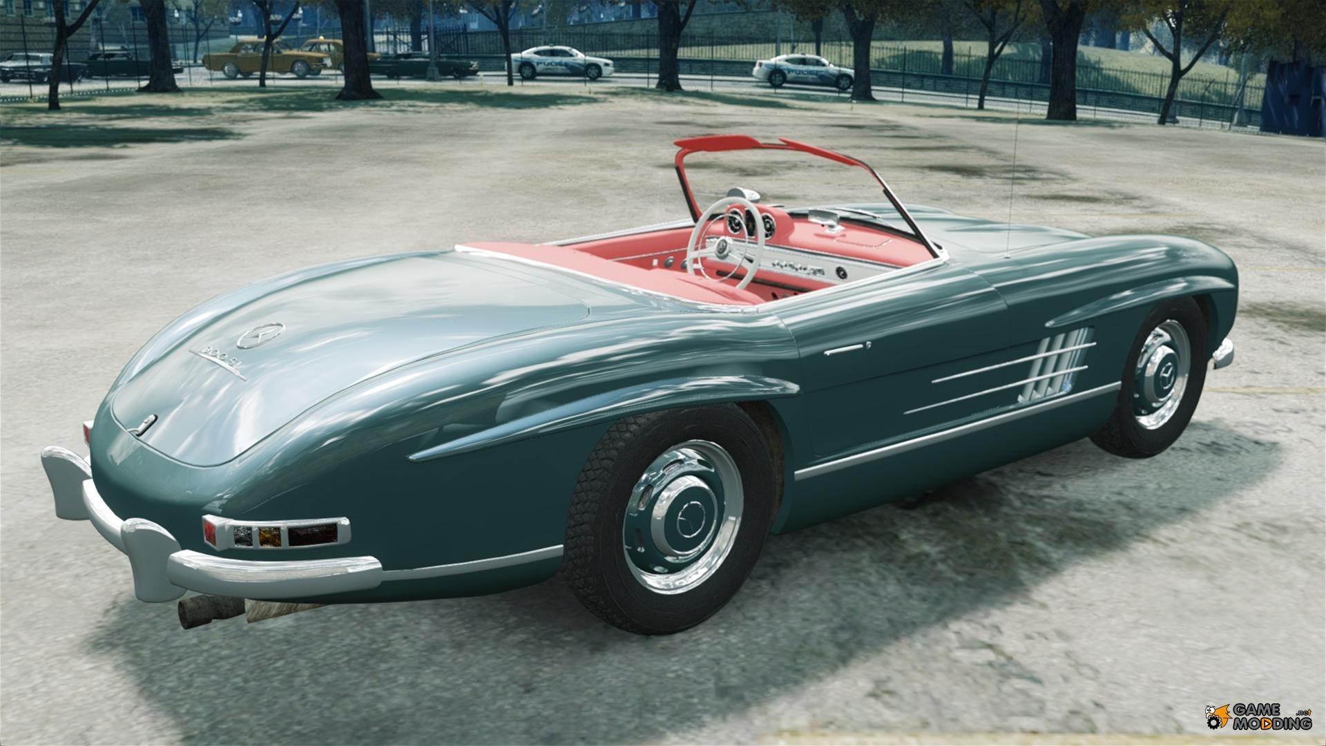 Mercedes benz 300 sl roadster v 1 0 for gta 4 for Mercedes benz sl roadster