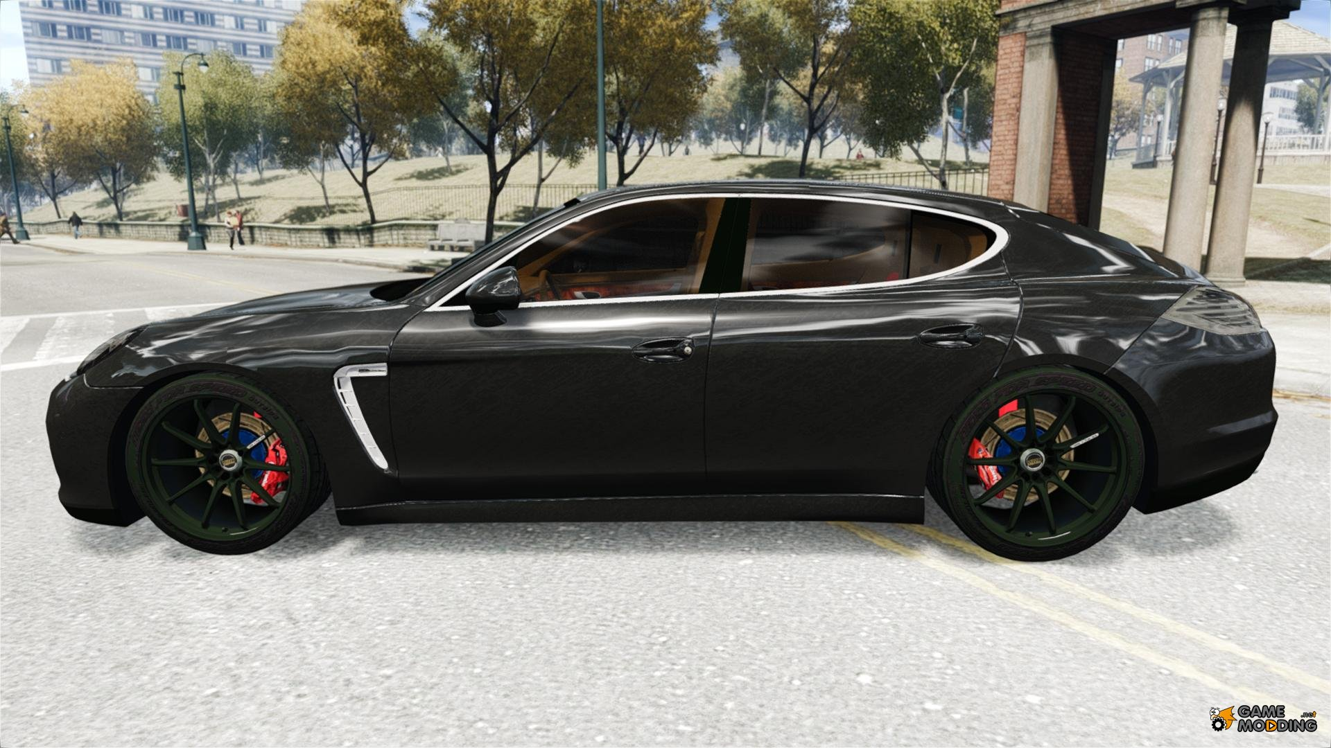 2010 porsche panamera turbo black edition for gta 4