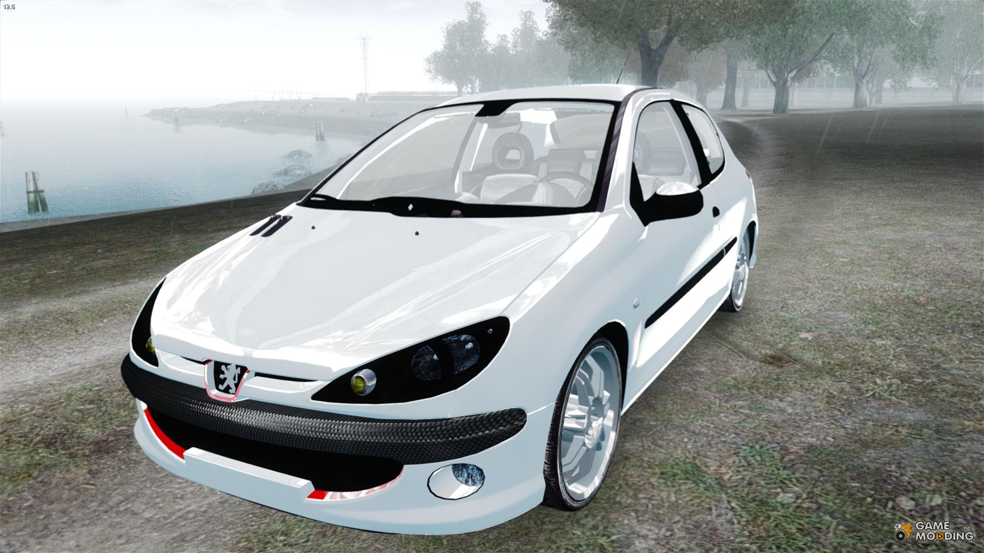 peugeot 206 1 6 xt 2001 for gta 4. Black Bedroom Furniture Sets. Home Design Ideas