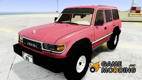 Toyota Land Cruiser GX by alialmoot 1997 for GTA 4