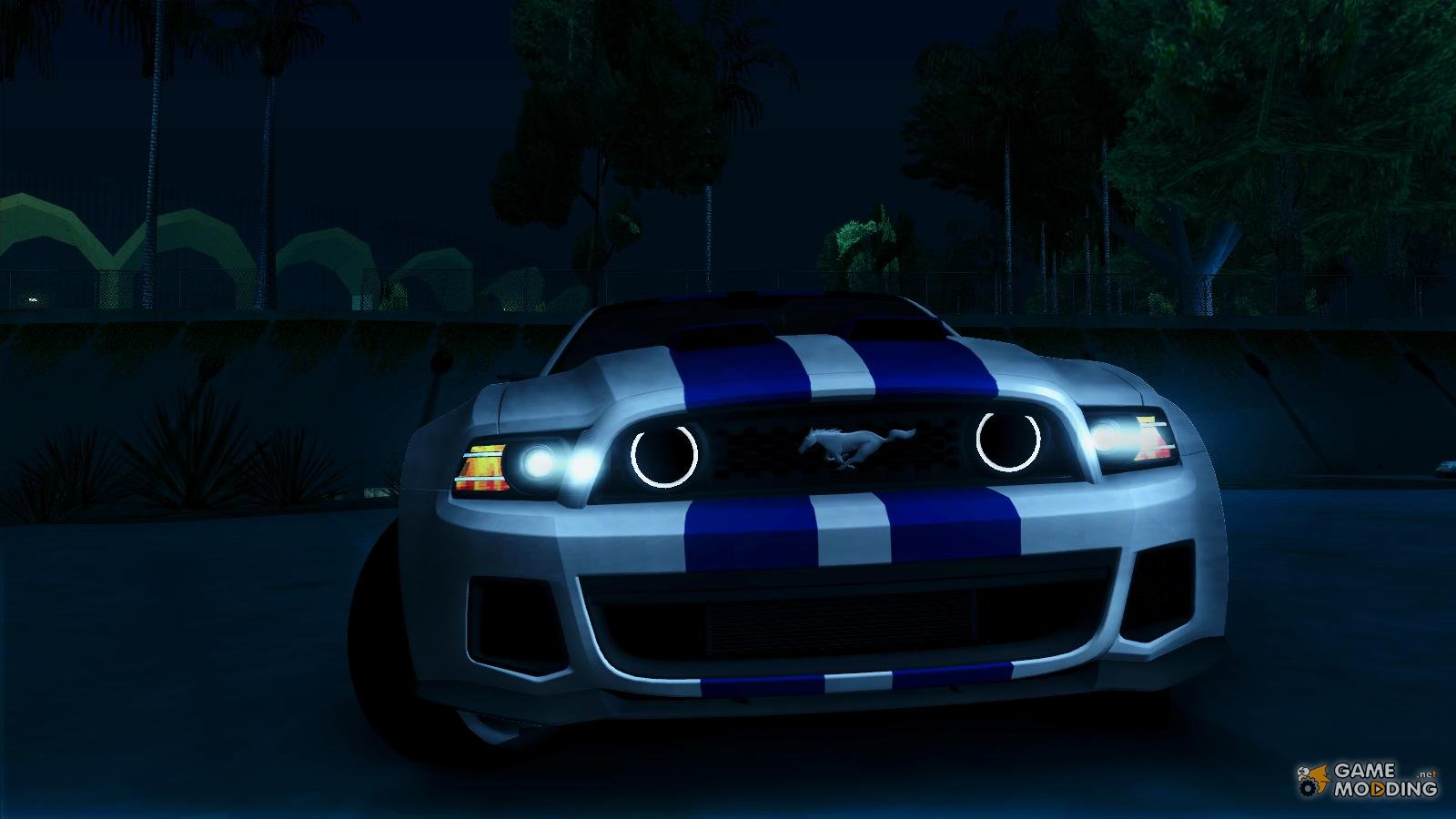 Ford Mustang 2013 Need For Speed Movie Edition For Gta San
