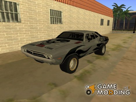 Dodge Challenger 1971 Aftermix for GTA San Andreas