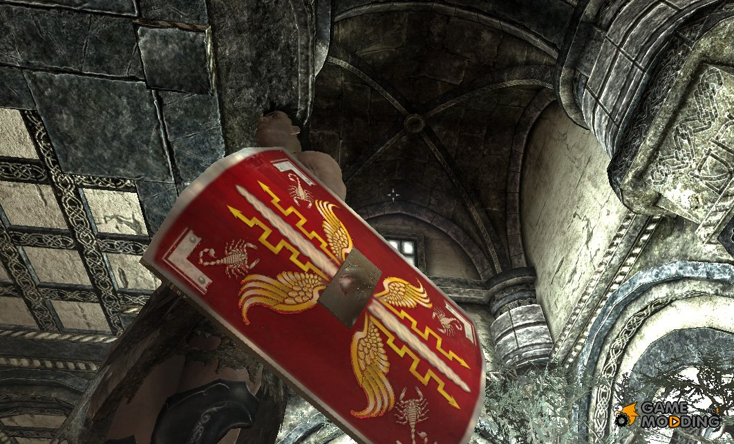 Imperial Light Shield Original Ancient Roman Style For Tes