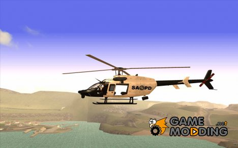 Bell 407 SAPD for GTA San Andreas