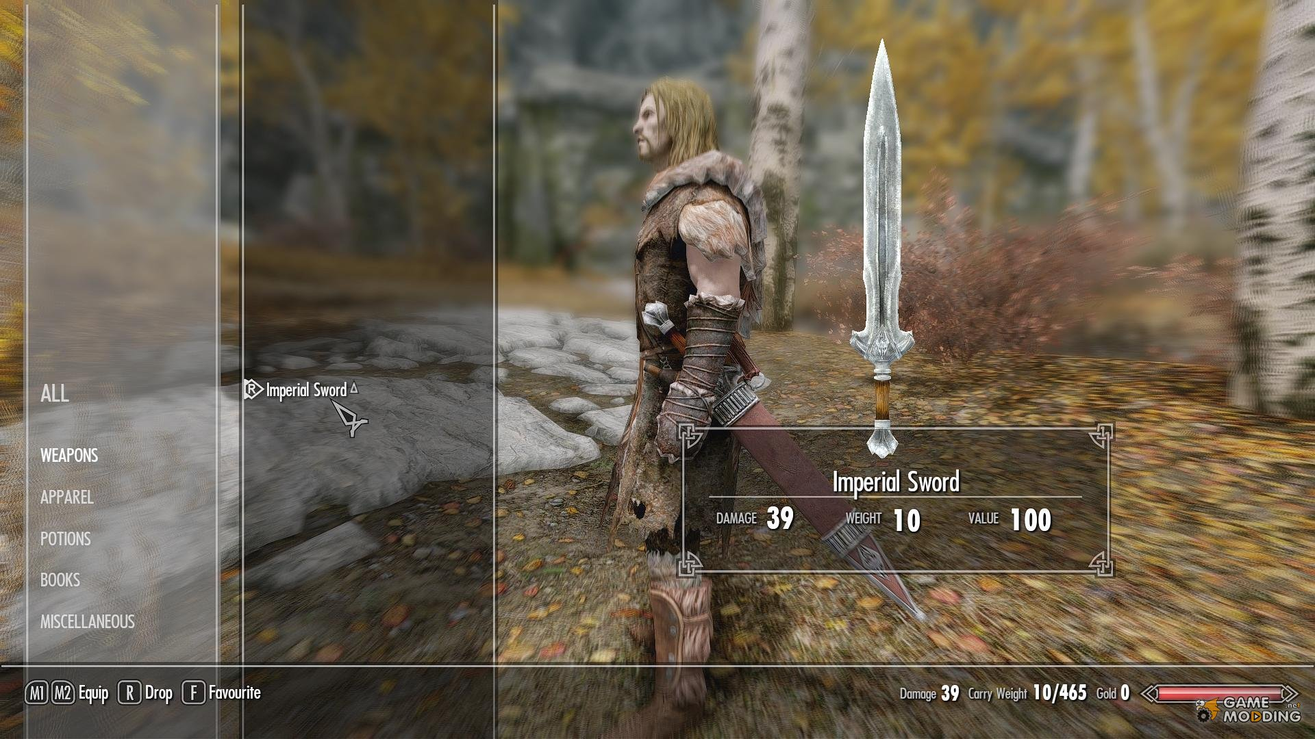 how to make imperial weapons skyrim