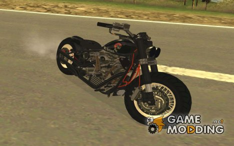 Harley Davidson Custom Bobber for GTA San Andreas