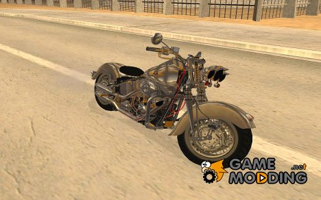 Harley Davidson Fat Boy Lo Vintage for GTA San Andreas