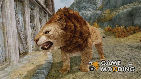 Summon Big Cats Mounts and Followers для TES V Skyrim