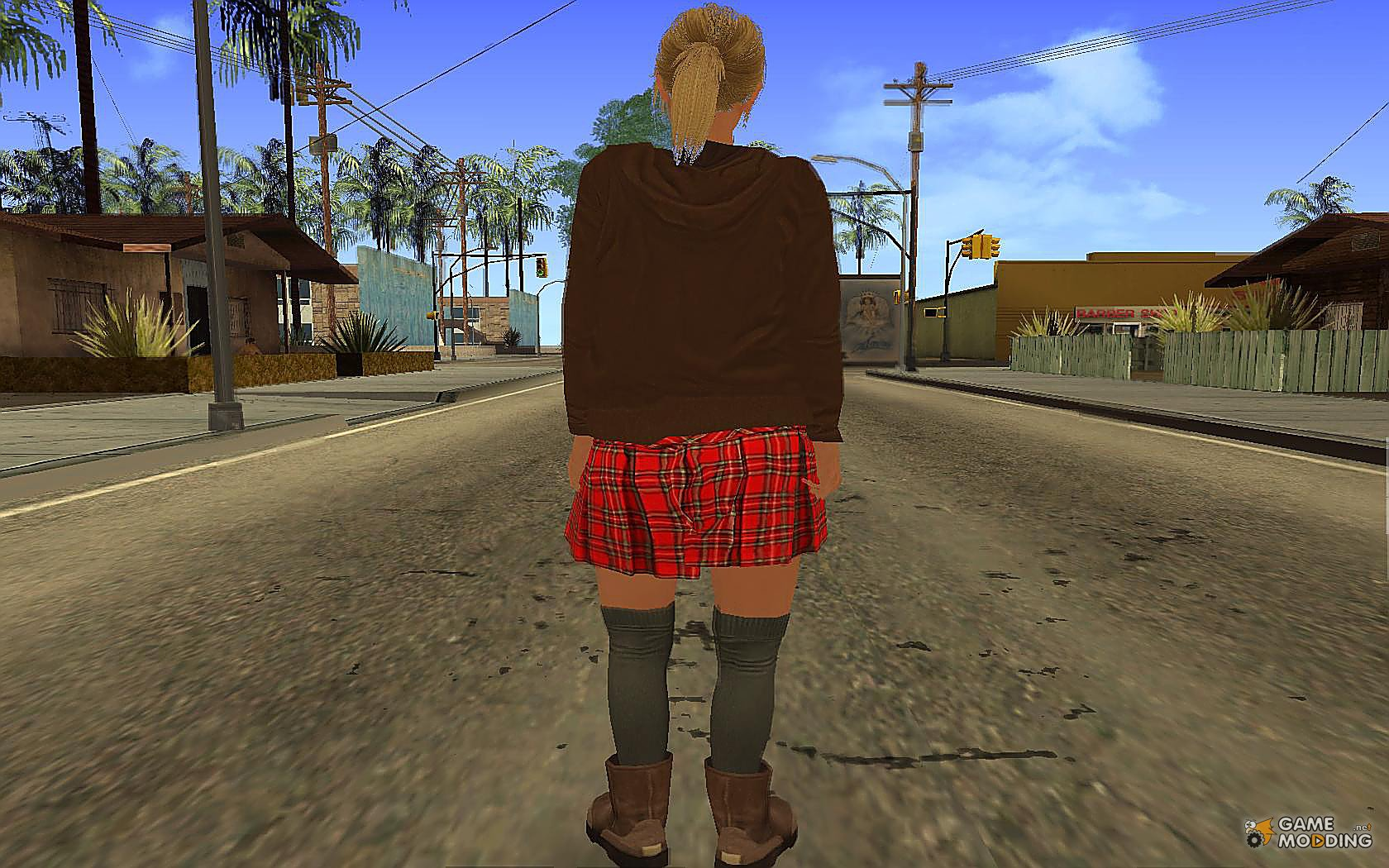 Tracey De Santa for GTA San Andreas