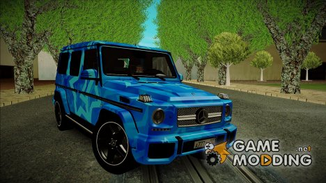 Mercedes-Benz G65 Blue Star for GTA San Andreas