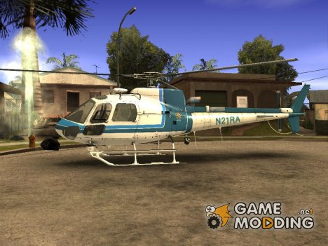 New police helicopter for GTA San Andreas