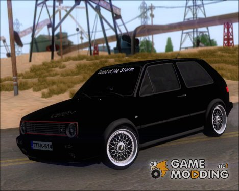 Volkswagen Golf MKII Storm (Tuning Billy Agic) for GTA San Andreas