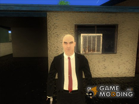 Agent 47 from Hitman Absolution for GTA San Andreas