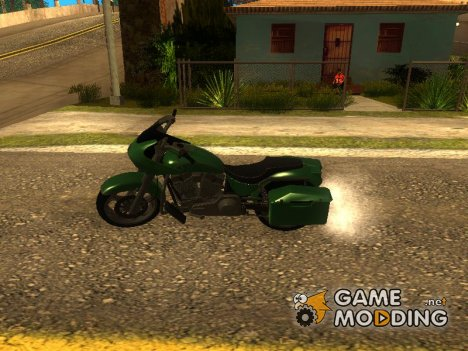 Bagger из GTA V for GTA San Andreas