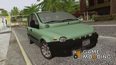 Fiat Multipla Black Bumpers for GTA San Andreas