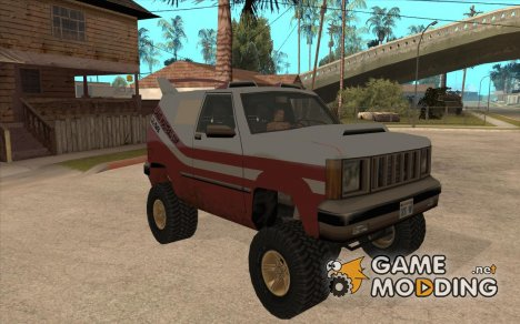 Sandking 4x4 Off Road Tuning for GTA San Andreas