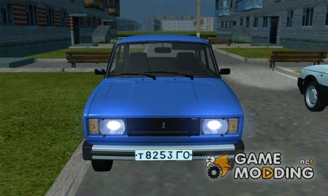 ВАЗ 2105 (USSR version) for GTA San Andreas