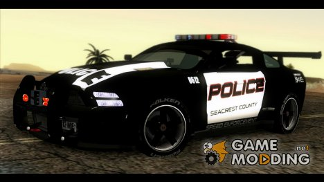 Ford Mustang GT-R Police for GTA San Andreas