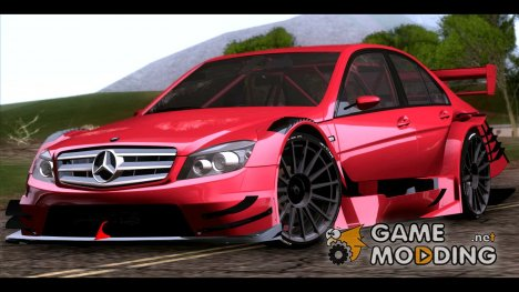 Mercedes-Benz C-Coupe AMG DTMfor GTA San Andreas