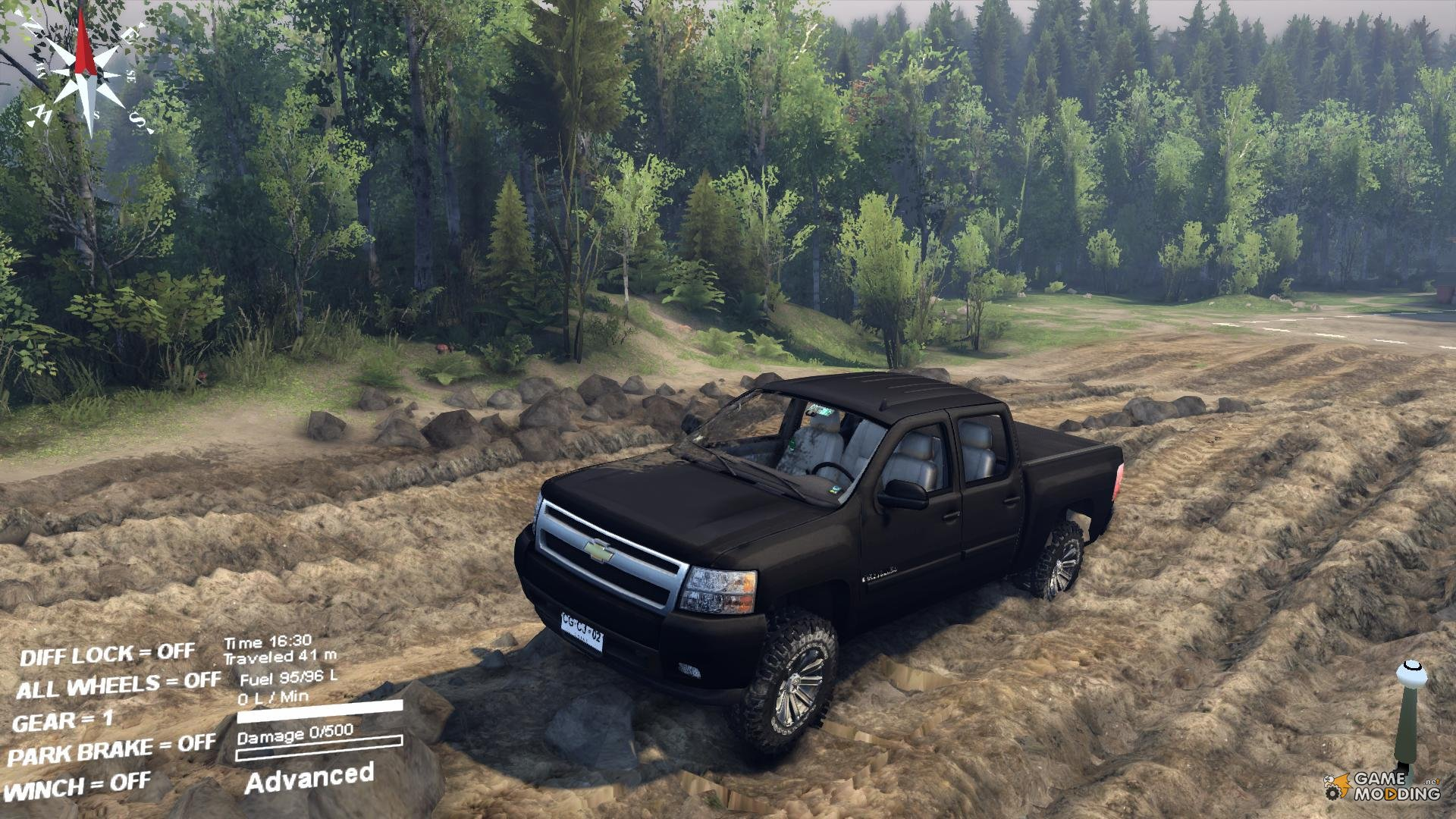 how to put mods on spintires