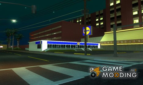 New 2 lidl shops in SF and LVfor GTA San Andreas